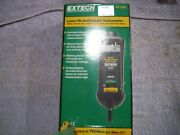 Laser Photo/contact Tachometer Extech Instruments 461995 With Case