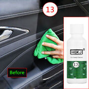 50ml Car Leather Seat Polish Care Wax Panel Dashboard Cleaner Tool Accessories