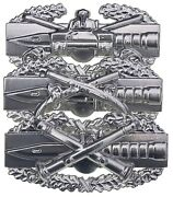 Armored Cavalry Military Police Field Artillery Us Army Combat Action Badge Cab