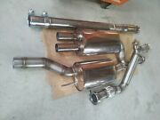Audi Rs2 Exhaust System Audi S2 Stainles Steel 76mm