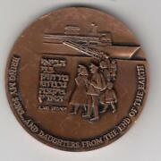 Israel 1963 Uja -25 Years Of Rescue And Rebuilding Award Medal 59mm Bronze 3