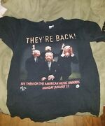 """Vintage Motley Crue T-shirt American Music Awards """"they're Back"""" Promotional Tee"""