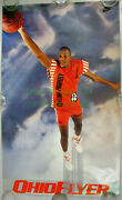 Nitf Nike Basketball Poster ☆ Ohio Flyer Ron Harper ☆ Cleveland Cavaliers Cavs