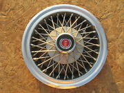 1977-82 Ford Mustang, Mercury Capri 14 Wire Wheel Cover, Hubcap, One 1