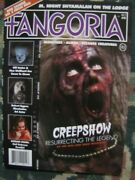 Fangoria Magazine Vol. 2 5 Creepshow And Rob Zombie On 3 From Hell Brand New