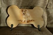 Pyrography Art Key Lead Rack Jack Russell Terrier Gift Idea Limited Edition