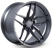 20x10f/20x11r Ferrada Forge8 Fr5 5x114.3 +40/50 Matte Graphite New Rims Set 4