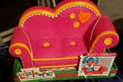 Lalaloopsy Couch Pink W/orange Trim Full Doll Size New