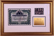 Painewebber Founder Signed Lake Copper Company Stock Certificate