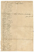 Return For Lt. John Hicksandrsquos Company At West Point Listing Names Of 38 Men