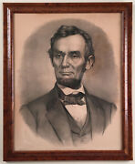 Lincoln Portrait By Currier And Ives