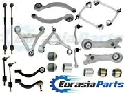 New Upper Lower Front Rear Control Arms Ball Joints Tie Rods Kit For Jaguar