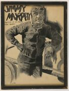 Early 1920and039s Jimmy Murphy Hall Of Famer And Indy 500 Champion Original Artwork