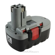 18v Extended Ni-mh Battery For Bosch 18 Volt Cordless Drill Power Tool