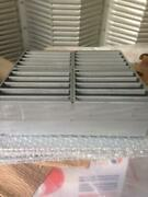 Fire Rated Air Transfer Grille 300x300mm And Milled Aluminium Cover Plates