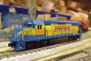 Fort Worth And Western Gp-38 Engine 2000 Miss Molly N-scale Custom Painted