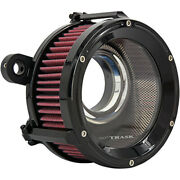 Trask Performance Assault Charge High Flow Air Cleaner Filter Harley Twin Cam