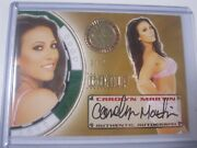 2013 Benchwarmer Vegas Baby Gold Comp Auto Signature Carolyn Martin And039d 21/21