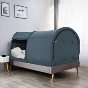 Bed Tent Canopy Bed Tent Private Space Tent Twin Size Frame Alvantor
