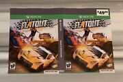 Ships Same Day Rare Gamestop Display Box Only Flatout 4 Xbox One Cover Art Only
