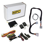Remote Start Kit With Keyless Entry For 2012-2014 Toyota Fj Cruiser - T-harness