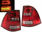 M-class W163 Mk1 1998-2005 Suv 5d Tail Rear Light Red/white For Mercedes-benz