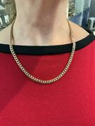 """Antique 14k Yellow Gold Victorian Watch Fob Necklace 20"""""""