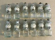 12 Handcrafted Snowman Table Decor Crafted With Vintage Salt Pepper And Shakers