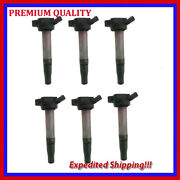 6pc Ignition Coil Jle2894x For Lexus Is250 2.5l V6 2006 2007 2008 2009 2010 2011