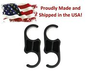 Bimini Top Boat Pole Clips 7/8 Inch 2 Pack For Four Winns Maxum Sea Ray Bayliner