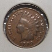 1899 Indian Head Cent Extremely Rare Wrong Planchet Error Weight=1.5 Grams