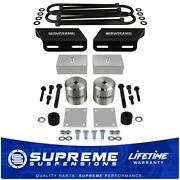 3 Front + 3 Rear Lift Kit Sway Bar For 08-16 F250 F350 Superduty 4x4 Overloads