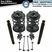 8 Piece Front And Rear Suspension Strut Assembly Sway Bar End Link Kit For Mdx