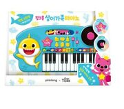 Pinkfong Baby Shark Family Piano Play Toy Popular Korean 14 Songs Baby Kids