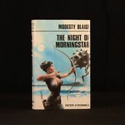 1982 Modesty Blaise The Night Of Morningstar Peter Oand039donnell