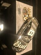 Dale Earnhardt Jr 8 Budweiser 2002 Silver Monte Carlo 1 Of 624 Signed Autograph