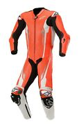 Alpinestars Absolute Perforated Mens 1-pc Leather Suit Red/white/black