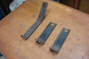 1972 Pontiac Grand Prix Factory Grille Mounting Brackets Set Of 3 Grill Mounts
