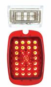 United Pacific Left Hand Led Tail Light 1937-1938 Chevy Car And 1940-1953 Truck