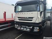 To Fit Iveco Stralis Cube + Hi-way Active Day Steel Grill Bar C + Oval Spots