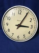 13 Simplex Slave Clock Schoolhouse Electric Hanging Wall Glass 507-041