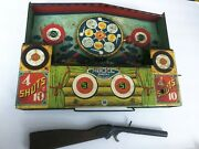1930's Wyandotte Model Shooting Gallery Tin Play Set Toy Parts Repair