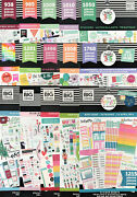 Me And My Big Ideas Create 365 The Happy Planner Stickers Value Pack - You Choose