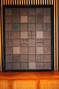 Mel Smilow Painting Collage 1980s Mid Century Modern Art Louise Nevelson