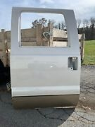 Left Rear Crew Cab Door Shell White And Tan Ford F250 F350 2008-16