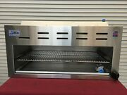 New 48 Infrared Cheese Melter Horizontal Gas Broiler Stratus Scm-48 3276 Usa
