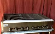 New 48 Snack Size Radiant Char Broiler 18 Cooking Surface Stratus Ssrb-48 3282