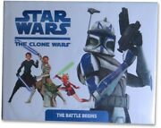 Star Wars The Clone Wars Multi Signed Autographed Book Lucas Jackson Bas A63340