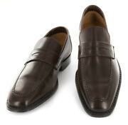 New 1500 Sutor Mantellassi Brown Shoes - Penny Loafers - 7/6 - M10792028