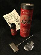 Vintage Speaker Tubeless Tire Puncture Repair Kit With Tool And Directions